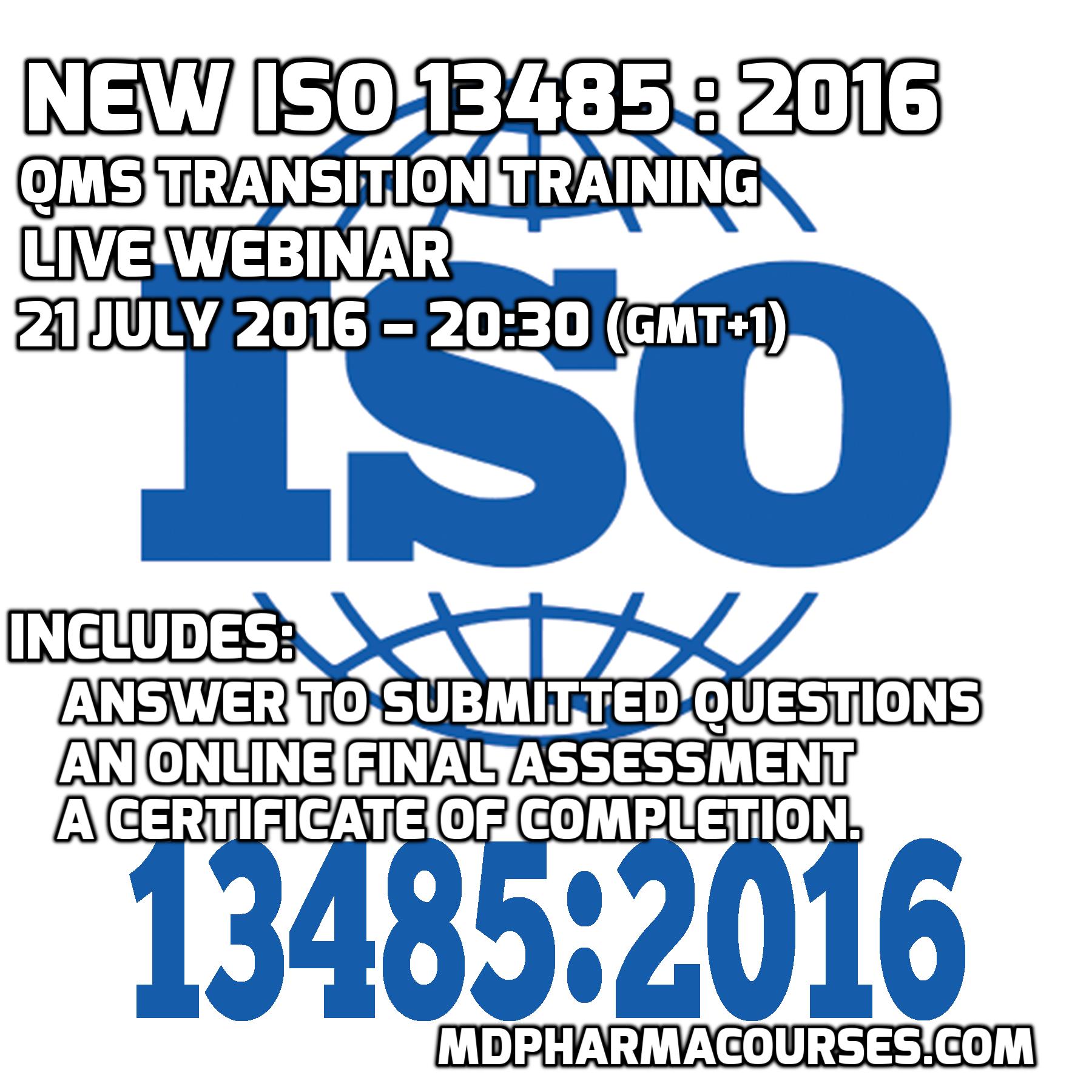 ISO-13485-2016-WEBINAR-TRAINING-MDPHARMACOURSES